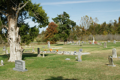 Fairview Cemetery - southwest Cherokee County