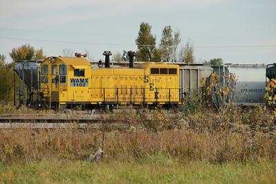 Southeast Kansas locomotive at Sherwin