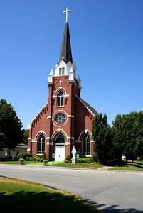 St Bridget's Catholic church in Scammon