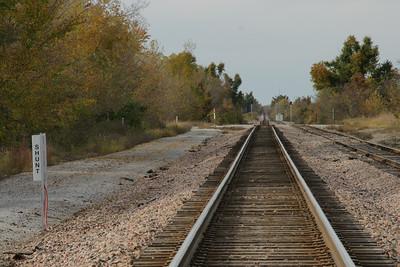 BNSF rail line at Neutral