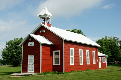 Renovated 1885 one room schoolhouse in Brazilton