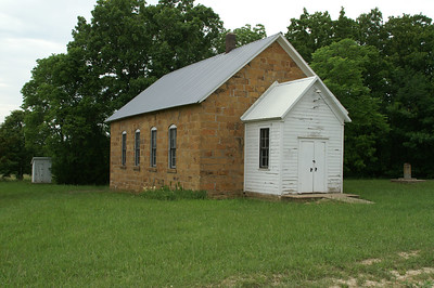 Former stone schoolhouse near Oak Valley - Elk County