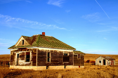 Abandoned house - western Greenwood County
