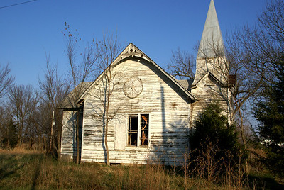 Former church in Quincy - eastern Greenwood County