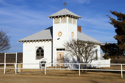 Norwegian Lutheran Church in west central Greenwood County