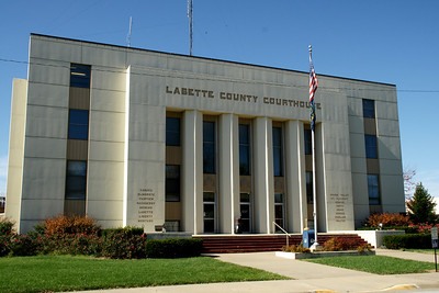 Labette County Courthouse in Oswego