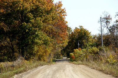 Rural road near Labette / Cherokee county line