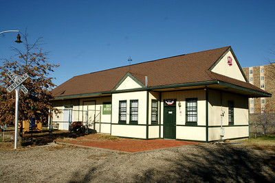 MKT (Katy) depot in Parsons. Now the Iron Horse museum.
