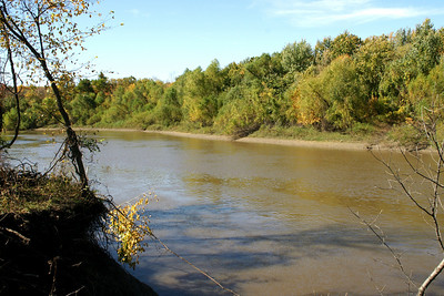 Neosho River near Oswego