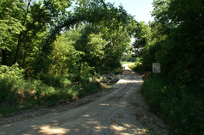 Elm Creek bridge in northern Lyon County