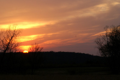 Sunset - northern Montgomery County