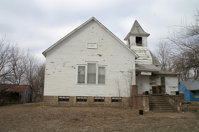 Abandoned Bible Church in Kimball