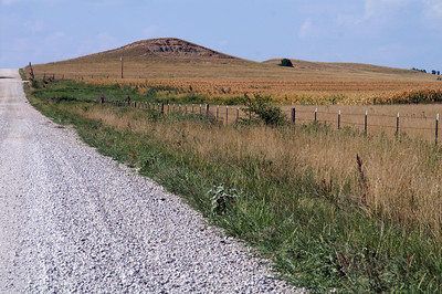 Part of Five Mounds area - eastern Wilson County