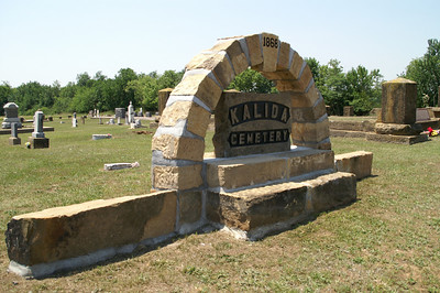 Kalida Cemetery southeast of Yates Center