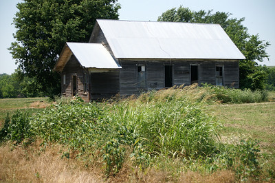 Abandoned school - southwest Woodson County