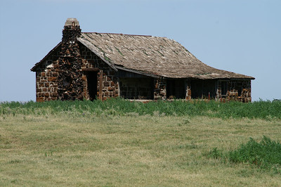 Ironstone Ranch house along RD 16 - western Clark County