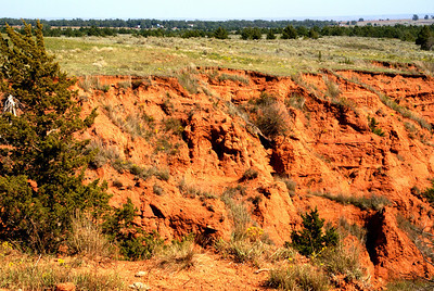 Red canyon near Cave Creek - far southeast Comanche County