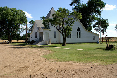 Antioch Community Church in Buttermilk area