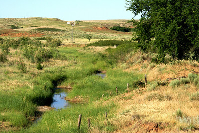 Indian Creek valley - eastern Comanche County