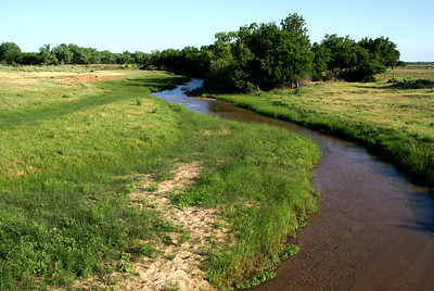 Mule Creek on Barber / Comanche County line