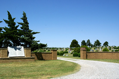 Crown Hill Cemetery east of Coldwater