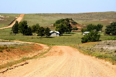 Ranch near Mustang Creek - southeast Comanche County