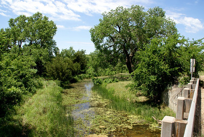 Skelton Creek east of Wilmore