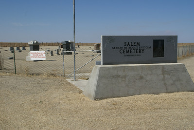 Salem Cemetery - northern Edwards County
