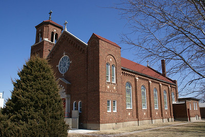 Saint Bernards church in Belpre