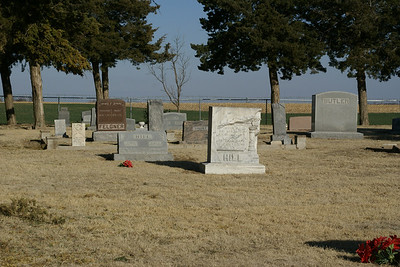 Trotter Cemetery southwest of Lewis