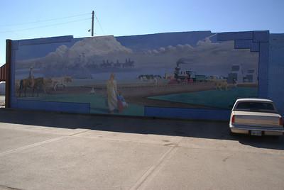 Mural in Offerle