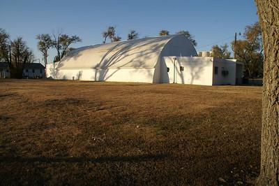 Community building in Pierceville
