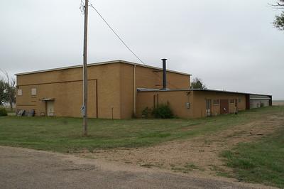 Former school at Friend