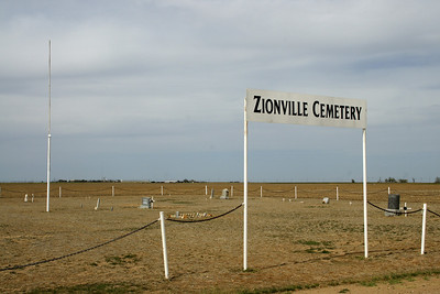 Zionville Cemetery - southern Grant County
