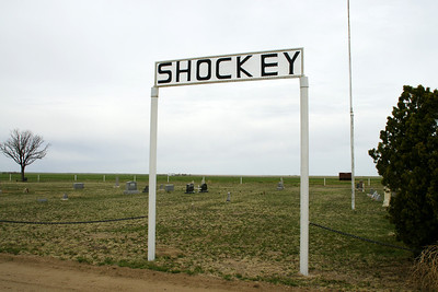 Shockey Cemetery in northwest Grant County