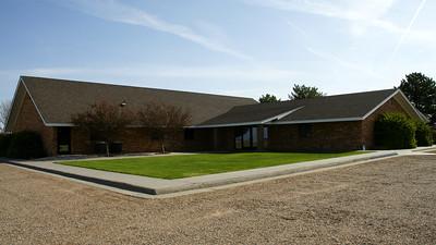 Grant Mennonite church east of Hickok