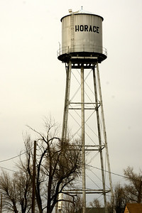 Horace Water Tower
