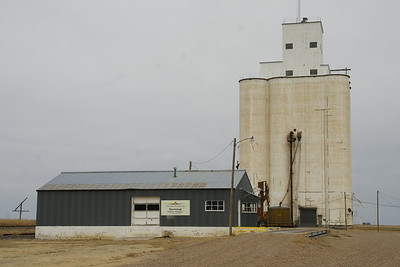 Grain Elevator at KanCo near Kansas Colorado border