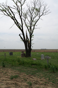 Remote Colusa Cemetery - northeast Haskell County. Near Santa Fe Trail