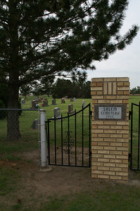 Salem Mennonite Cemetery - northeast Haskell County