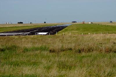 Satanta airport runway
