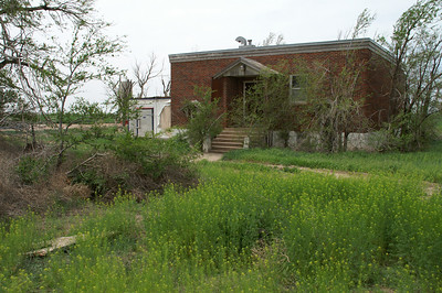 Abandoned Valley school - northwest Haskell County