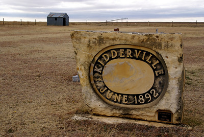 Remote Kidderville Cemetery - northwest Hodgeman County