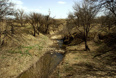 Pawnee River - northeast Hodgeman County