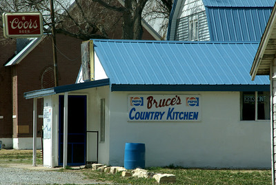 Bruce's Country Kitchen cafe in Hanston
