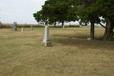 Boles Cemetery - Kiowa / Pratt county line