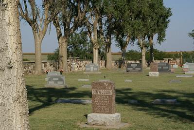 Hillcrest Cemetery near Mullinville