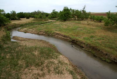 Medicine Lodge River just northeast of Belvidere