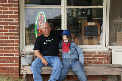 "With a ""friend"" at Halley's Junction in Belvidere"