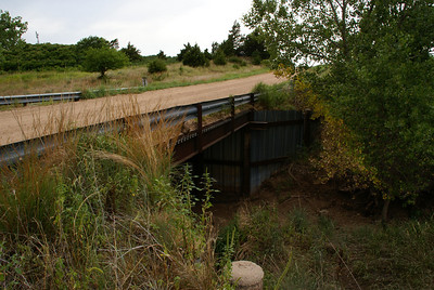 Soldier Creek bridge south of Wellsford